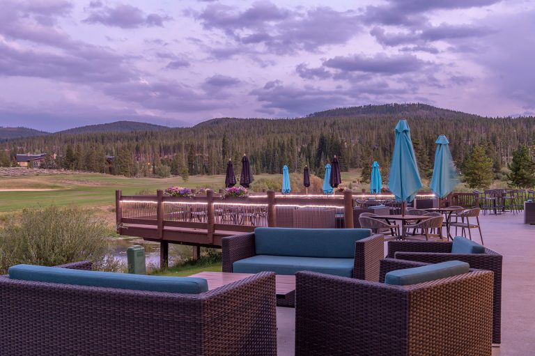 The Clubhouse at Breckenridge Golf Course - Deck