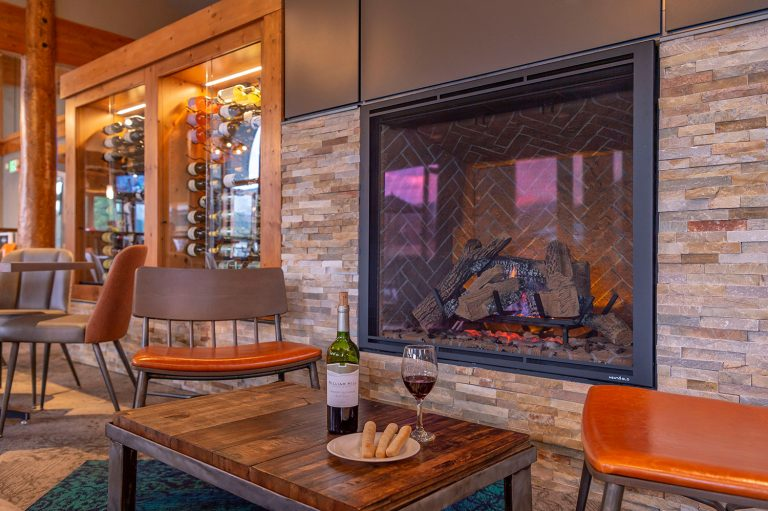 The Clubhouse at Breckenridge Golf Course - Fireplace