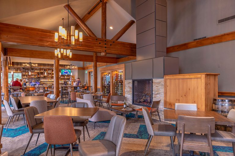 The Clubhouse at Breckenridge Golf Course - Interior