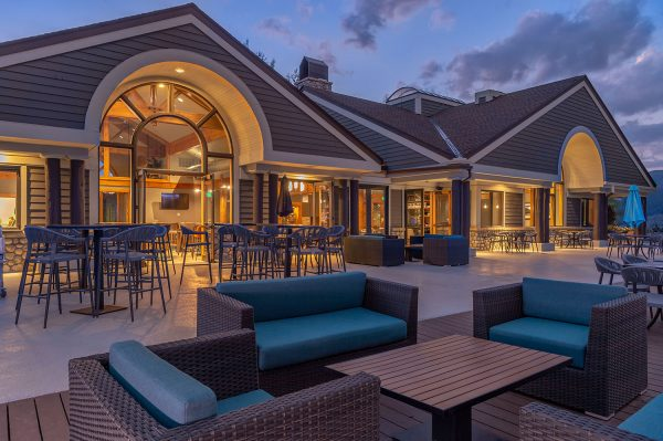 The Clubhouse at Breckenridge Golf Course